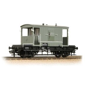 Bachmann 37-528D BR 20T Brake Van BR Grey Early