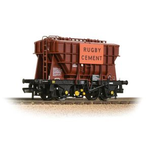 Bachmann 38-272A BR 22T 'Presflo' Cement Wagon BR Bauxite TOPS 'Rugby Cement