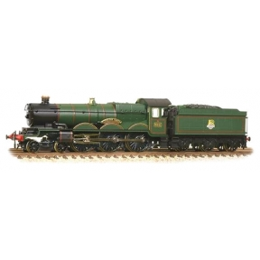 Graham Farish 372-031 Castle Class 5041 'Tiverton Castle' BR Green Early Emblem