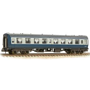 Graham Farish 374-013D N Gauge BR Mk1 TSO Tourist Second Open Coach BR Blue & Grey Weathered