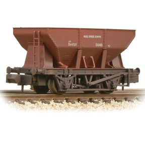 Graham Farish 373-216A 24T Iron Ore Hopper BR Bauxite Early Weathered