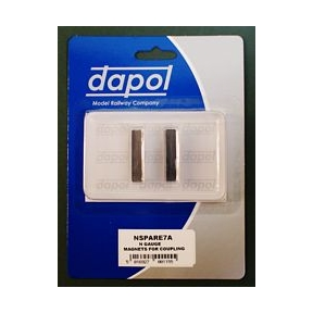 Dapol 2A-000-006 Magnets for Couplings (Pack of 2)