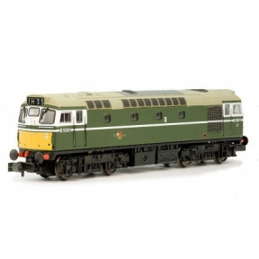 Dapol 2D-013-054 Class 27 Dummy D5369 BR Green with small yellow panels