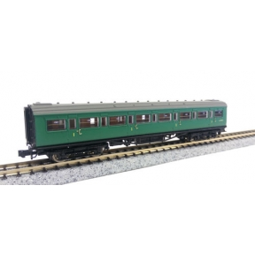 Dapol 2P-012-304 Maunsell Coach 1st BR Green 7367