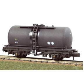 Peco NR-P77W Tank Wagon (type C) Regent Oil black Weathered