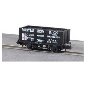 Peco NR-P415 7 Plank Wagon Burnyeat Brown & Co
