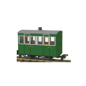 Peco GR-500 OO-9 Glyn Valley Tramway 4 Wheel Enclosed Side Coach