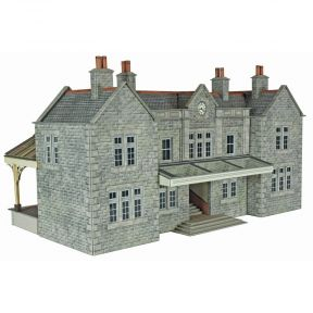 Metcalfe OO Gauge Mainline Station Booking Hall