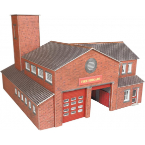 Metcalfe OO Gauge Fire Station
