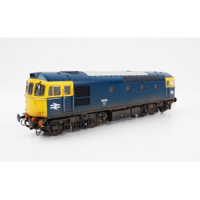 Heljan 1095 OO Gauge Class 33 33010 BR Blue & 4 x Fuel Oil Tanks (Weathered)