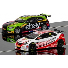 BTCC Champions Twin Pack - BMW 125 Series 1 & Honda Civic