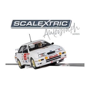 Scalextric Autograph Series Ford Sierra RS500 Robb GFravett