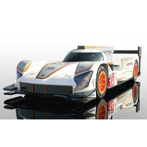 Scalextric Ginetta G60-LT-P1 No 14 - White & Orange