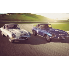 Jaguar E-Type - First Win 1961 Twin Pack