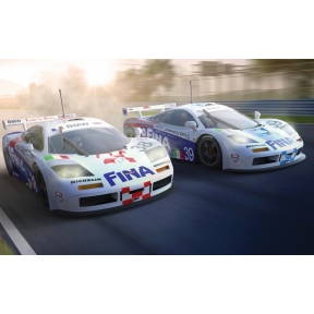 Scalextric McLaren F1 GTR - LeMans 1996 Twin Pack
