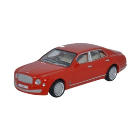 Oxford Diecast Bentley Mulsanne St. James Red