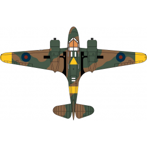 Oxford Diecast Airspeed Oxford MP425 G-AITB (RAF Museum Hendon)
