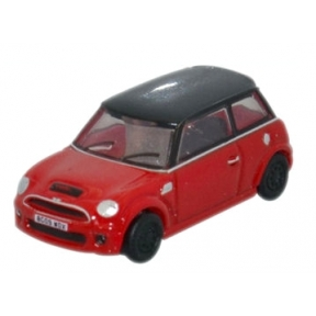 Oxford Diecast NNMN001 New Mini Chili Red