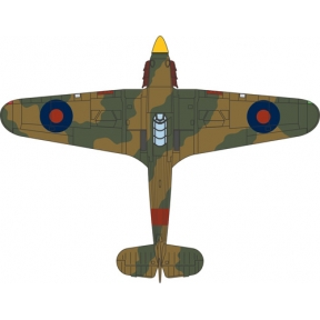 Oxford Diecast Hawker Hurricane Mk.I 11 Group 6 OUT Sutton Bridge 1940