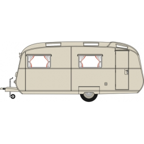 Carlight Continental Caravan Light Green