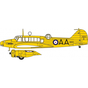 Oxford Diecast Avro Anson No.6013 AA No.1 SFTS RCAF