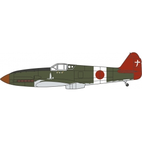 Oxford Diecast Kawasaki Ki-61 Hien 244th Flight Reg. Chofu Airfield 1945