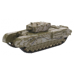 Oxford Diecast Churchill Tank 142 RAC Tunisia 1943
