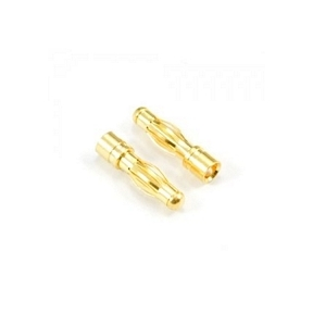 Gold Connectors 4.0mm Male (2)