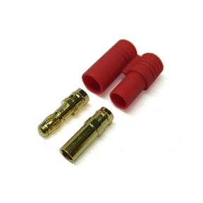 3.5mm Gold Connector with Housing