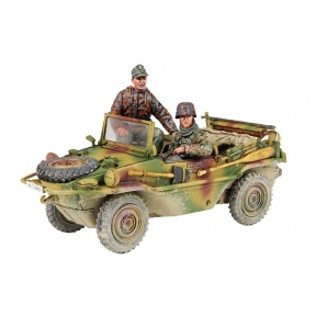W.Britains 25051 Type 166 Schwimmwagen 12th SS Division Crew Winter 1944