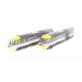 Dapol 2D-019-202 N Gauge Class 43 HST Intercity Swallow W43041 and W43166 Power Car Set