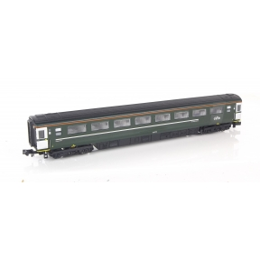 Dapol 2P-005-339 N Gauge BR Mk3 Second Class Coach GWR Green 42579
