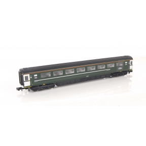 Dapol 2P-005-340 N Gauge BR Mk3 Second Class Coach GWR Green 42300