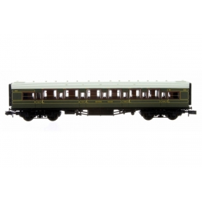 Dapol 2P-014-040 N Gauge Maunsell High Window Coach Composite Corridor SR Olive Green