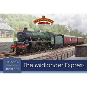 Bachmann 30-285 OO Gauge The Midlander Express Train Set