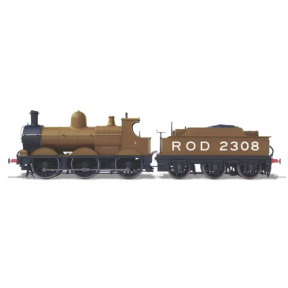 Oxford Rail OR76DG009 GWR Dean Goods 0-6-0 2308 ROD Khaki