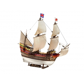 Revell Mayflower 400th Anniversary Plastic Kit Gift Set