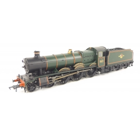 Bachmann 32-000DC GW Hall 4-6-0 5927 'Guild Hall' BR Green Late Crest