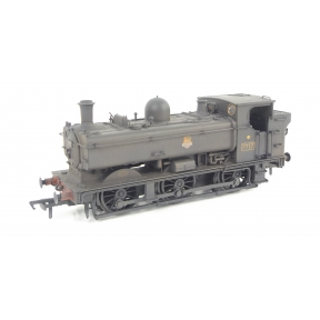 Bachmann 32-219 GW 57xx Pannier Tank 7717 BR Black Early Crest Weathered