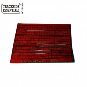 Dark Red Ridge Tiles