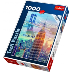 New York at Dawn 1000 Piece Jigsaw Puzzle