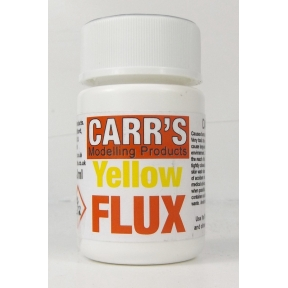 Carrs Yellow Flux 50ml (Whitemetal Brass Nickel Silver & Pewter)