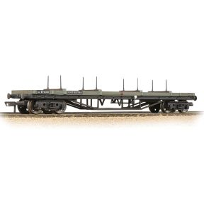 Bachmann 33-856E 30T Bogie Bolster BR Grey Early Weathered
