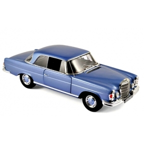 1 18 Scale 1969 Mercedes Benz 280 SE Coup Blue