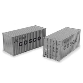 Bachmann 36-127 20ft Containers 'Cosco' (x2)