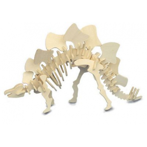 Stegosaurus Woodcraft Construction Kits