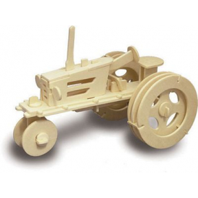 Tractor Woodcraft Construction Kit