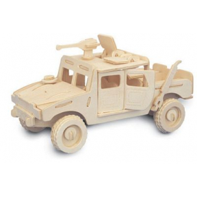 Jeep Woodcraft Construction Kit