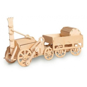 Stephenson's Rocket Woodcraft Construction Kit