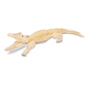 Crocodile Woodcraft Construction Kit